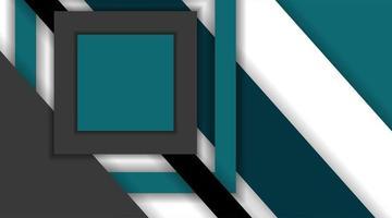 sfondo di disegno del materiale vettoriale. modello di layout concetto creativo astratto. forme geometriche sovrapposte. per il web, lo sfondo o così via vettore