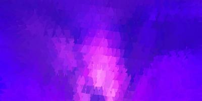 disegno poligonale geometrico di vettore viola scuro.