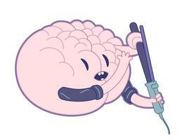 bella mente, collezione di cervelli vettore