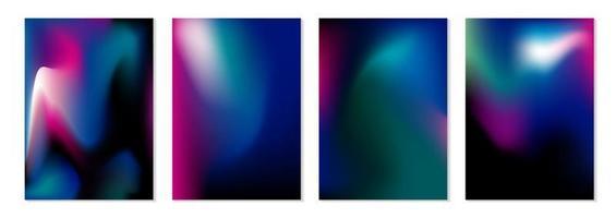 illustrazione di vettore del fondo di flusso di colore astratto