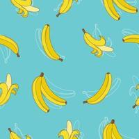 banana con sfondo trasparente di colore pastello per bambini e decorazioni murali
