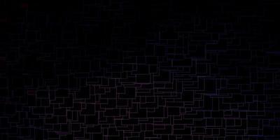 trama vettoriale rosa scuro, blu in stile rettangolare.
