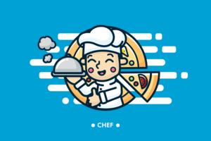 vettore di chef ai