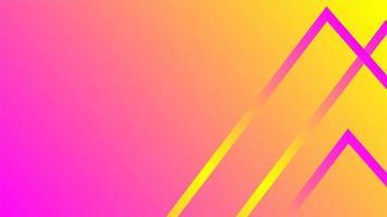 sfondo sfumato giallo rosa astratto vettore