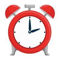 icona del promemoria dell'ora della sveglia vettore