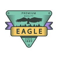 modello di logo di colore del parco ricreativo vettore