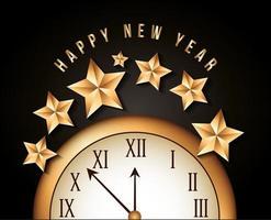 felice anno nuovo disegno vettoriale