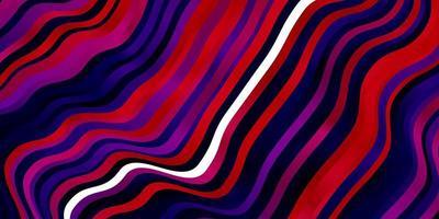 trama vettoriale viola scuro, rosa con arco circolare.