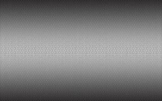 sfondo esagonale geometrico grigio semplice moderno. fondo poligonale metallico nero astratto. semplice illustrazione vettoriale
