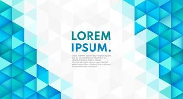 forma geometrica astratta di colore alla moda su sfondo grigio bianco con spazio di copia. moderno modello tecnologico futuristico colore blu e verde. puoi usare per template, banner web. illustrazione vettoriale