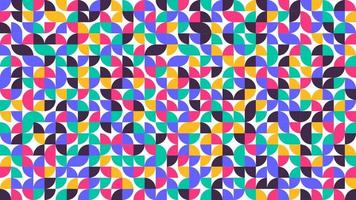 disegno del modello astratto del manifesto di arte di stile minimalista minimalista geometrico in stile scandinavo vettore