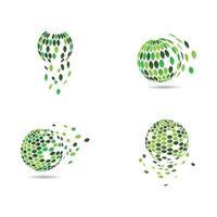 illustrazione di immagini di ecologia