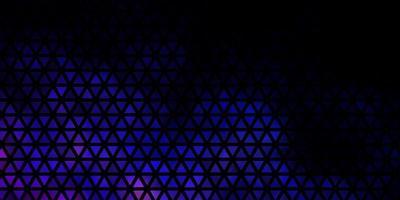 sfondo blu scuro con stile poligonale vettore