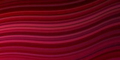 sfondo vettoriale rosa chiaro, rosso con linee ironiche.
