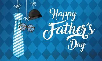 disegno di celebrazione della festa del papà vettore