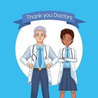 personaggi dottore interrazziale