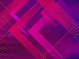 sfondo di design geometrico di colore viola moderno vettore