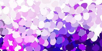 texture vettoriale viola chiaro, rosa con forme di memphis.