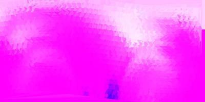 modello di mosaico triangolo vettoriale viola chiaro.