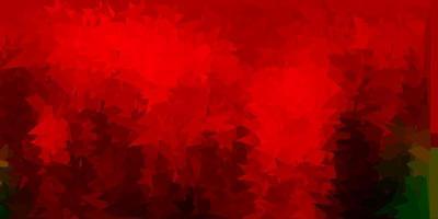 verde scuro, rosso vettore gradiente poligono texture.