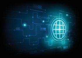 sfondo di concetto di tecnologia con rete metallica e spazio di testo vettore