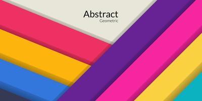 sfondo colorato rettangolo geometrico astratto moderno vettore