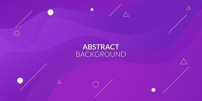 moderno astratto viola sfumato geometrico vettore