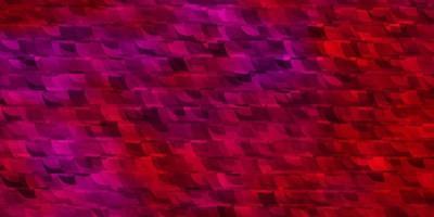 sfondo vettoriale rosa chiaro con linee, triangoli.