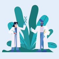 progetto di ricerca sul vaccino contro il coronavirus con i chimici vettore