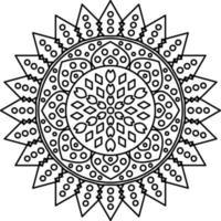 mandala con ornamenti