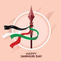 giorno dell'indipendenza del kenya o concetto felice del giorno di jamhuri vettore