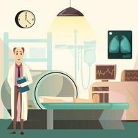 sconfiggere il cancro sfondo ortogonale vettore