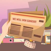 sconfiggere la composizione ortogonale del cancro vettore