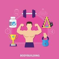 illustrazione vettoriale di fitness
