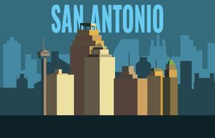 Punto di riferimento di San Antonio vettore