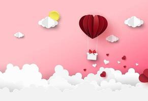 banner di vendita di design biglietto di auguri di san valentino
