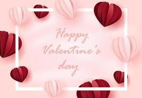 concetto di giorno di San Valentino vettore