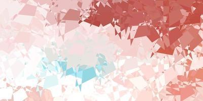 trama vettoriale rosa chiaro, verde con forme di memphis.