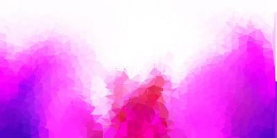 modello di triangolo astratto di vettore viola scuro, rosa.