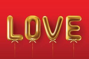 design di San Valentino. scatole regalo rosse realistiche. confezione regalo aperta piena di oggetti decorativi festivi. banner per le vacanze, poster web, flyer, brochure elegante, biglietto di auguri, copertina. sfondo romantico vettore