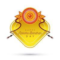 india raksha bandhan decorazione floreale vettore