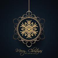 Fondo decorativo della bagattella di Natale vettore