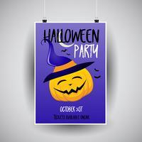 Disegno di un volantino di Halloween
