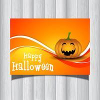 Volantino di zucca di Halloween