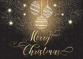 Sfondo di Natale decorativo vettore