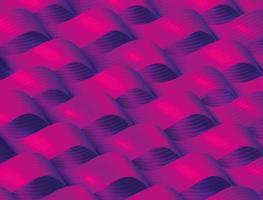 modello astratto sfondo con vibranti colori viola e rosa vettore
