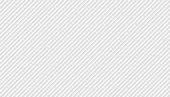 linee oblique astratte modello sfondo bianco e grigio. illustrazione vettoriale
