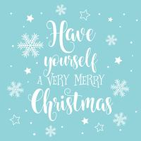 Priorità bassa decorativa del testo di Natale e Capodanno vettore