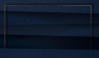 carta tagliata sfondo oro di lusso con struttura in metallo 3d astratto, per carta regalo, poster su modello di poster da parete, pagina di destinazione, interfaccia utente, ux, copertina vettore