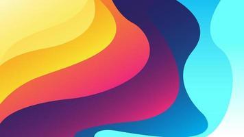 sfondo astratto con effetto dinamico. modello moderno adatto per carta da parati, banner, sfondo, carta, illustrazione di libri, pagina di destinazione, regalo, copertina, volantino, rapporto, affari, social media vettore